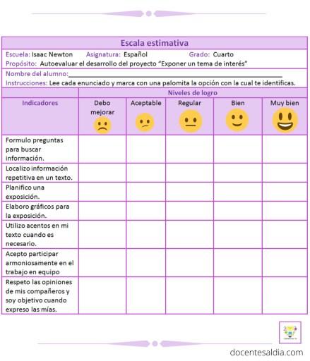Instrumento De Evaluación Escala Estimativa Qué Es Cómo Se Diseña Y Ejemplos Descargables