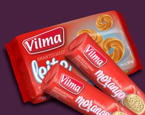Novidade da Vilma Alimentos tradição com boa relação qualidade/preço.