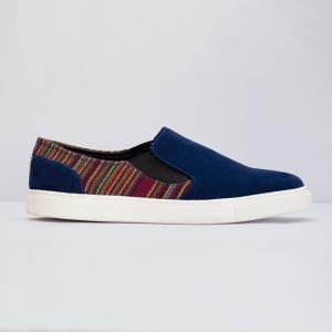 Mang Blue Slip-ons