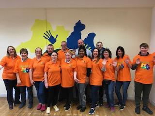 Dochas Team World Autism Day 02.Apr.19