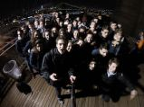 Le groupe sur Brooklyn Bridge