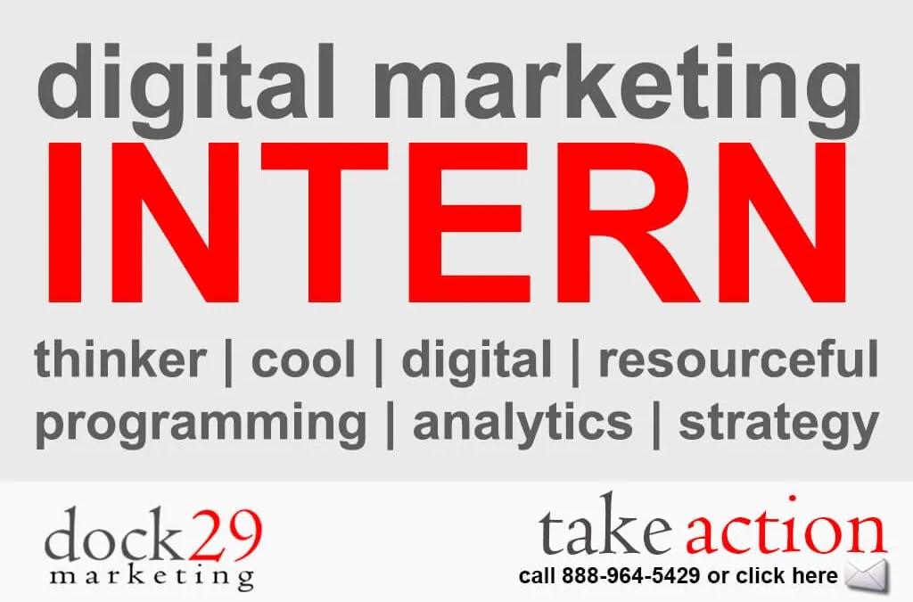 Digital Marketing Internship Program