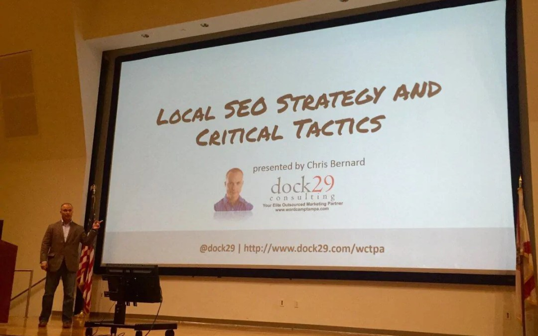 How to Video: Local SEO Strategy by Digital Marketing Consultant Chris Bernard