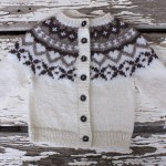Grow-along cardigan