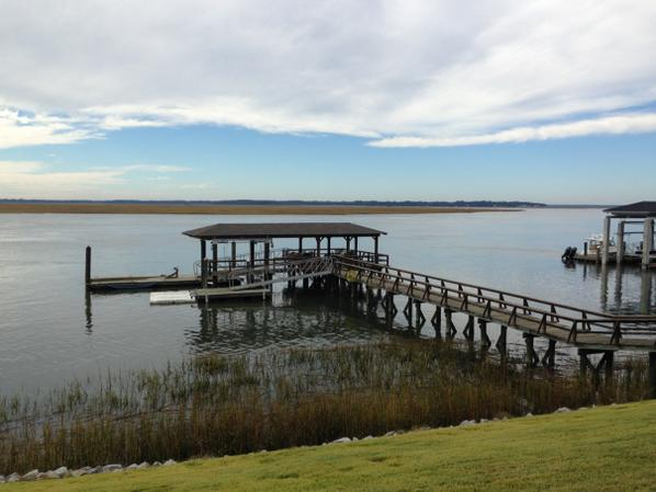 Sapelo River, GA Dock Renovation Nov 2014