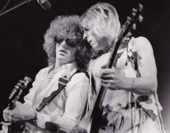Ian Hunter & Mick Ronson - They had some great shows.