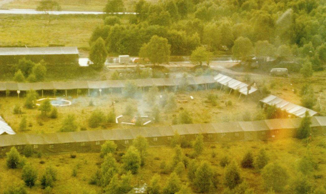 1984 Ansicht aus der Luft Verabschiedung