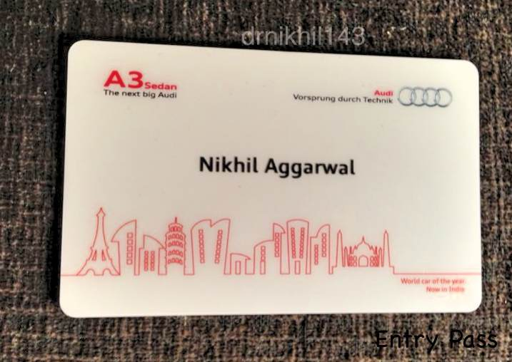 Audi A3 Sedan India launch event (2/6)
