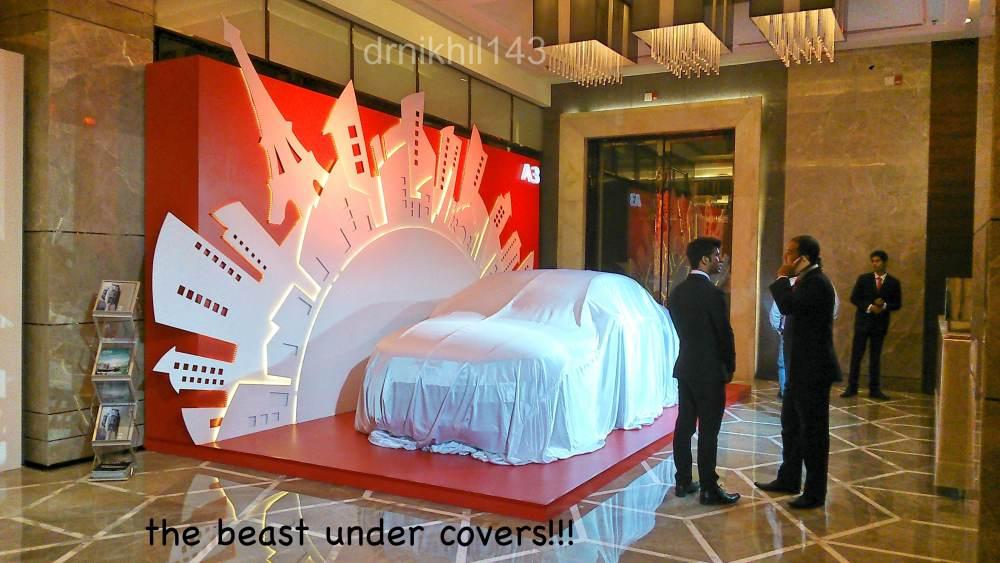 Audi A3 Sedan India launch event (3/6)