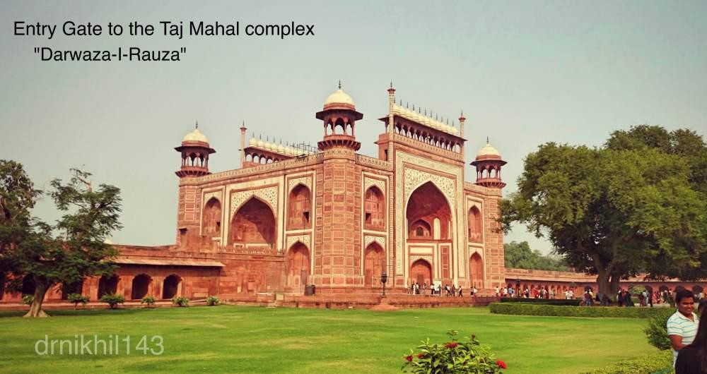 Short trip to Taj Mahal (3/6)