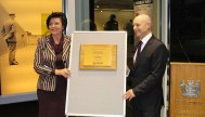 Hon Anne Tolley Minister of Corrections and Ray Smith Chief Executive, Corrections at the official opening.
