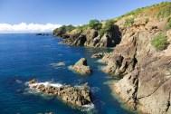 Rocks at Cape Rodney-Okakari Point Marine Reserve (Goat Island). Photo: Piotr Zurek | CC BY-NC-SA 2.0.