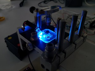Optical DNA detection experiments