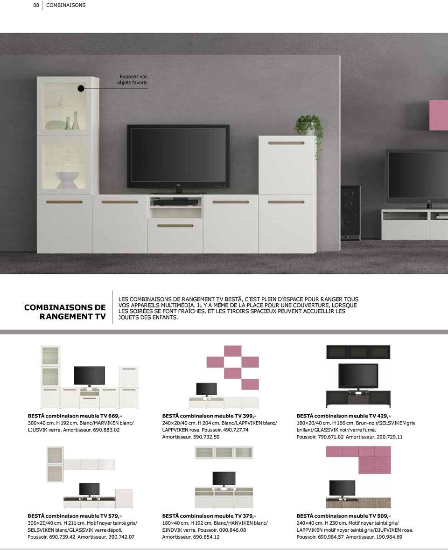 montage meuble tv besta ikea close maid