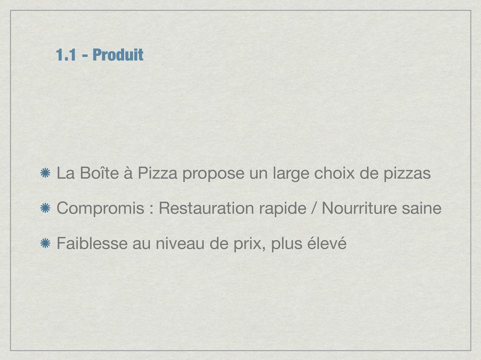 recommandation media la boite a pizza