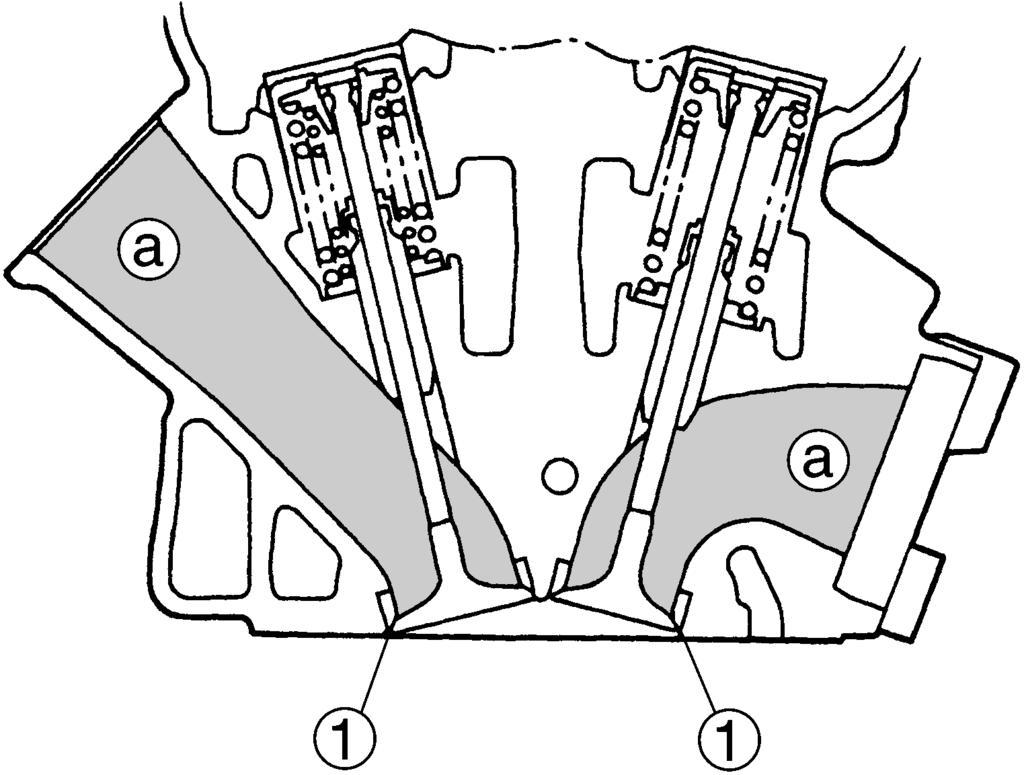 Déposer poussoir de soupape cale de soupape 2 noter la position de chaque poussoir