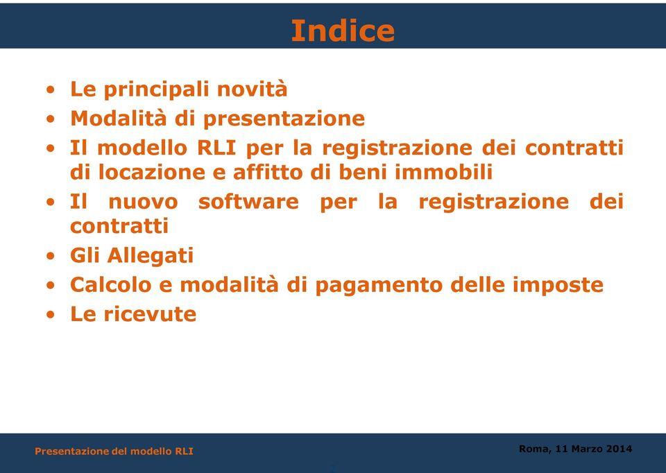 Il Modello Rli Richiesta Di Registrazione Contratti Di