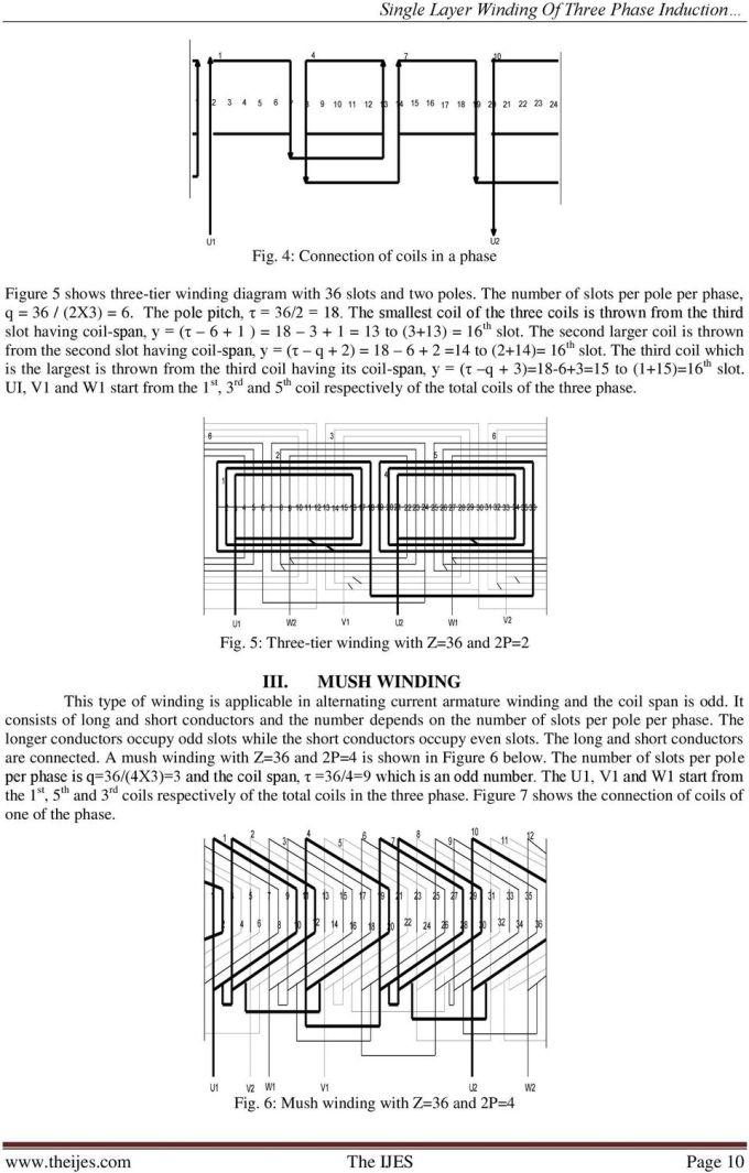 3 Phase Induction Motor Winding Diagram Pdf Motorwallpapers