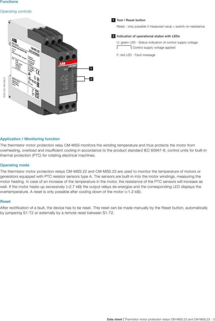 Ptc Motor Protection Relay | siteandsites co