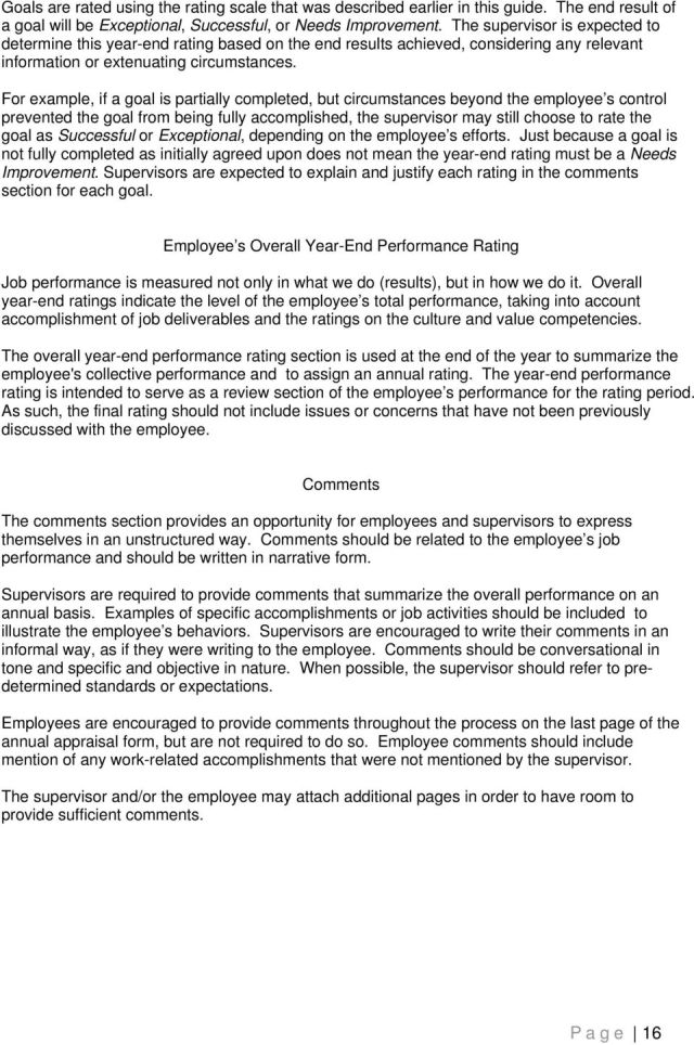 PERFORMANCE APPRAISAL GUIDE FOR SUPERVISORS AND EMPLOYEES - PDF