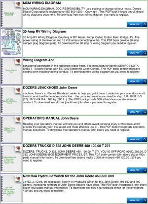 John Deere 450c Wiring Diagram   Wiring Diagram And Schematics