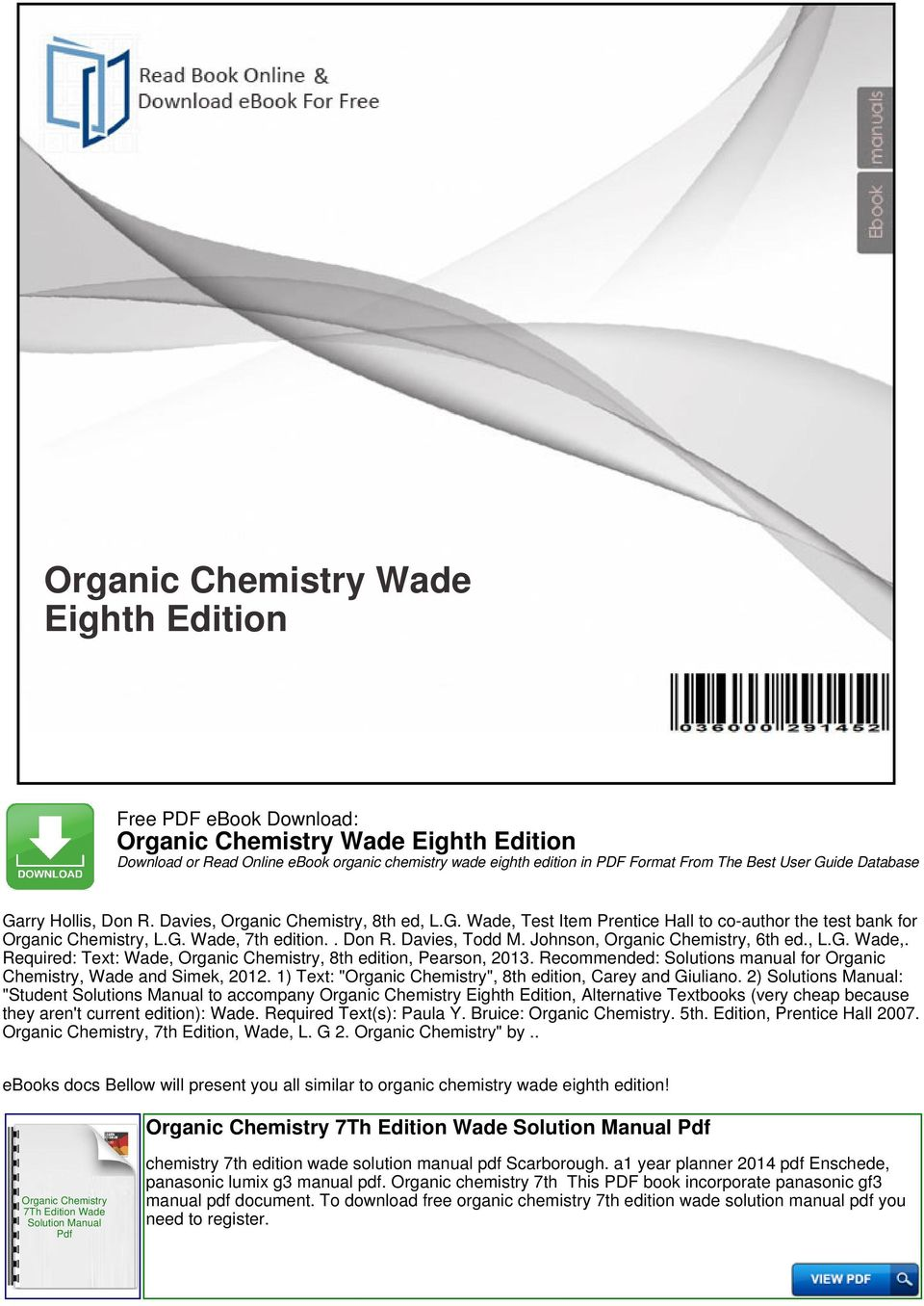 Lg manuals online ebook array best free fillable forms organic chemistry wade th edition pdf rh lifechallengingrides us fandeluxe Choice Image