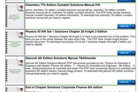 Free books to read physics for scientists and engineers th edition physics for scientists and engineers th edition solutions pdf we have free books ebooks epub and pdf collections download hundreds of free book and fandeluxe Image collections