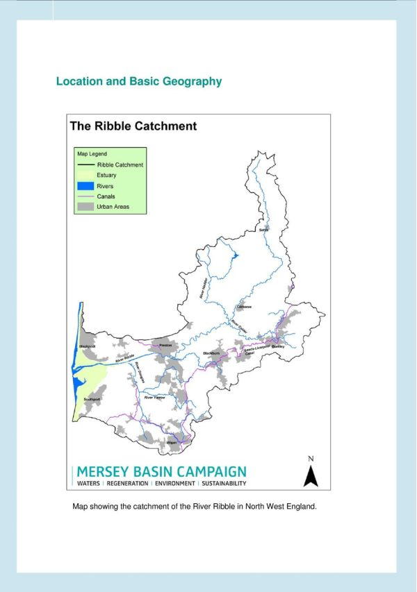 The River Ribble is one of the longest rivers in the North ...