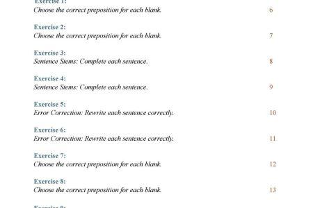 Sentence Correction Worksheets Pdf Sentence Starters Sentence