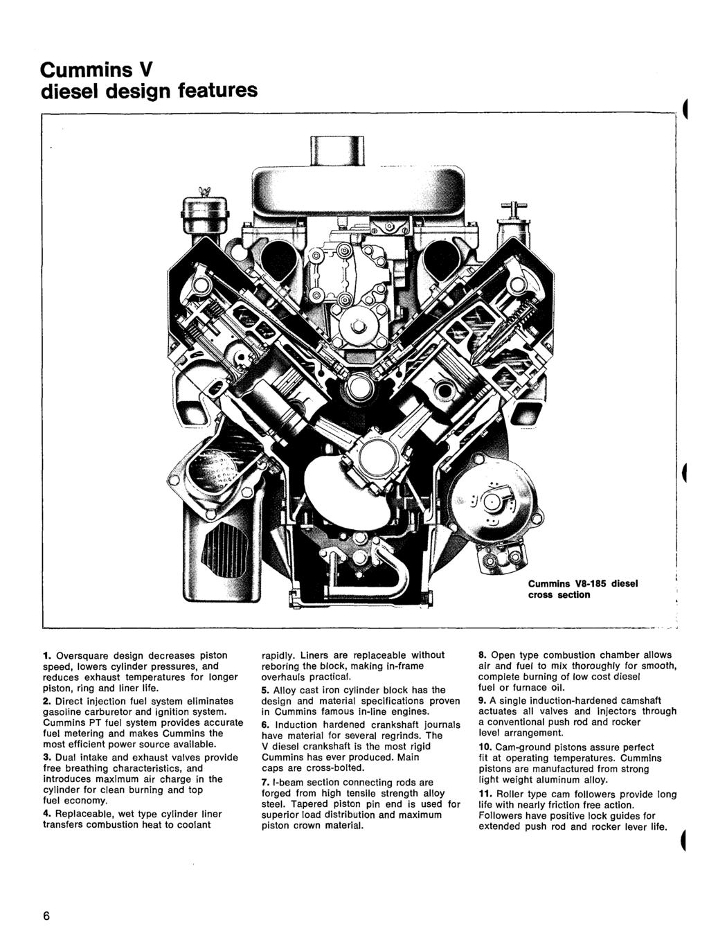 The M Nufacture Ofsel Engines Presented Ly Cueimins Engine Coapany