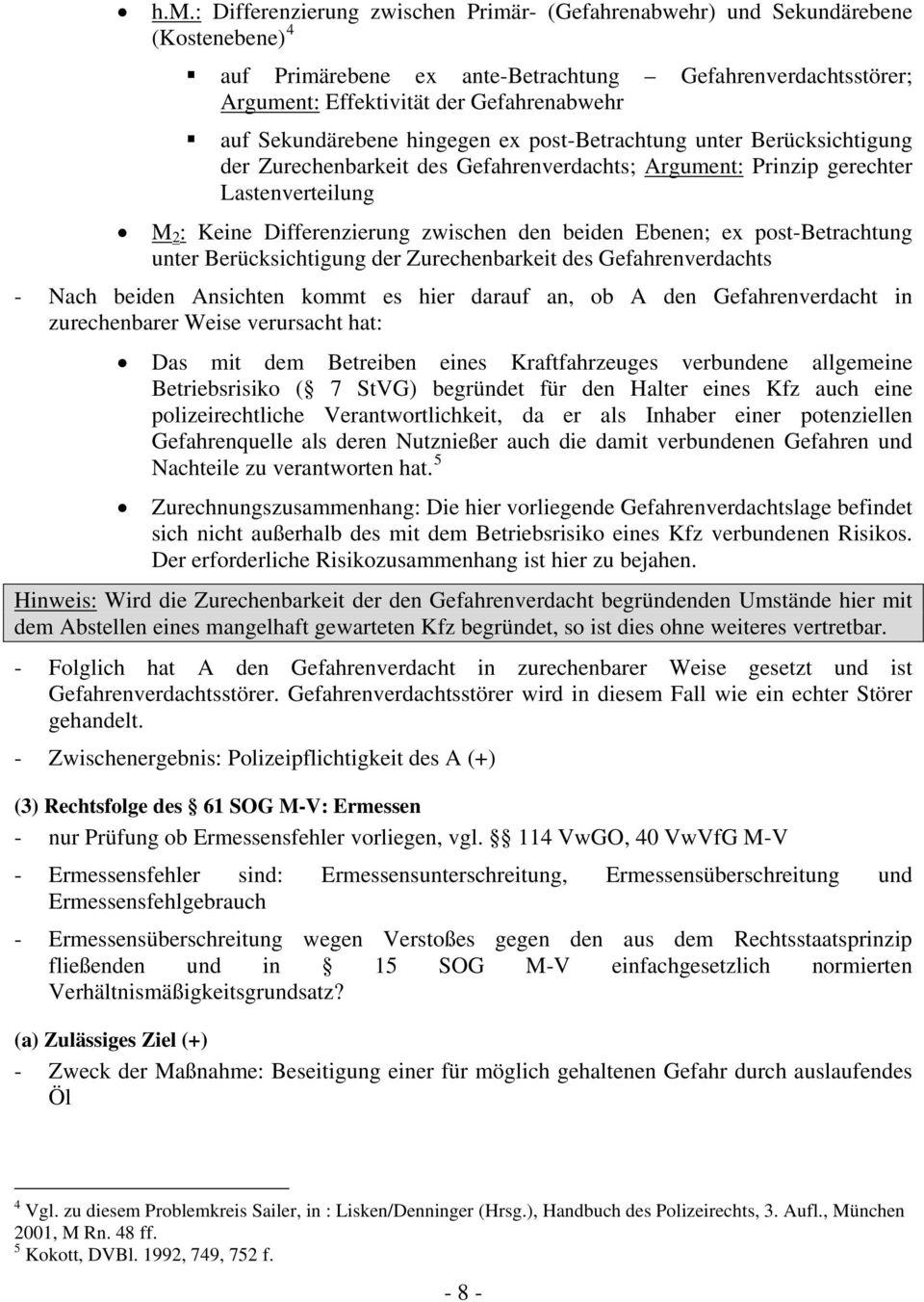 Prof Dr Hubertus Gersdorf Wintersemester 200607