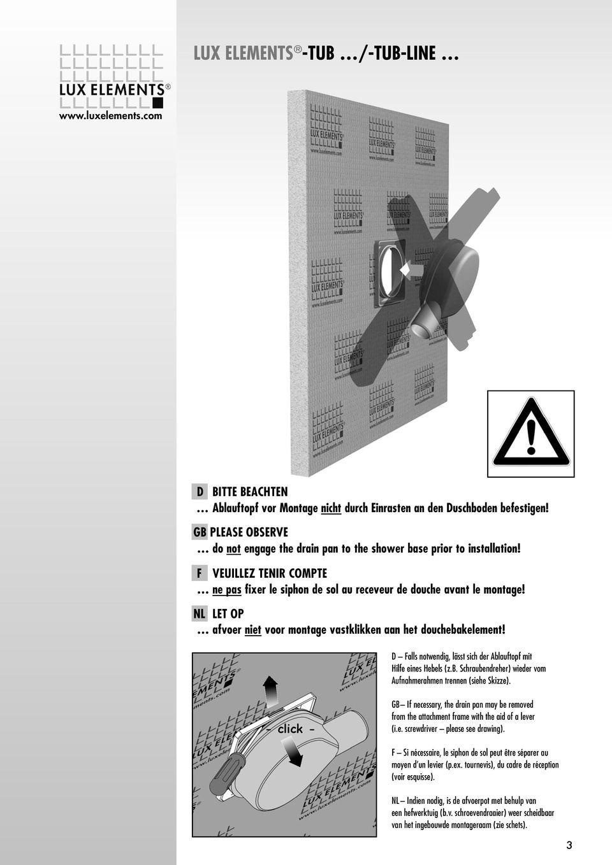 lux elements tub tub line pdf