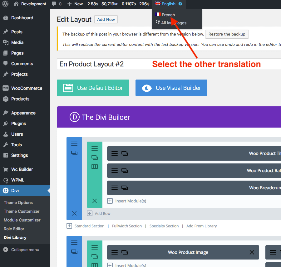 Translate Products Using WPML and Wc Builder - Documentation