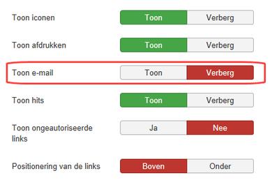 Joomla 3.8.8 notities over de veranderde standaard ...