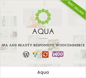 Aqua - Spa & Beauty WooCommerce WordPress Theme