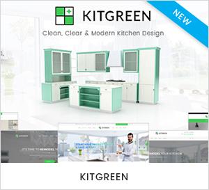 Modern Kitchen WordPress Theme