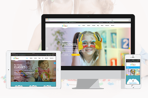 Nurseries Kindergarten and School WordPress Theme