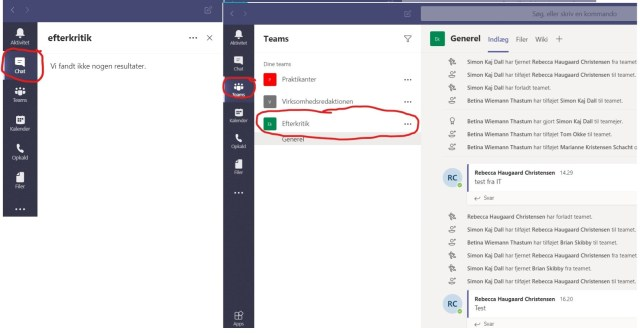 troubleshooting chat function in MS teams. - Microsoft Q&A