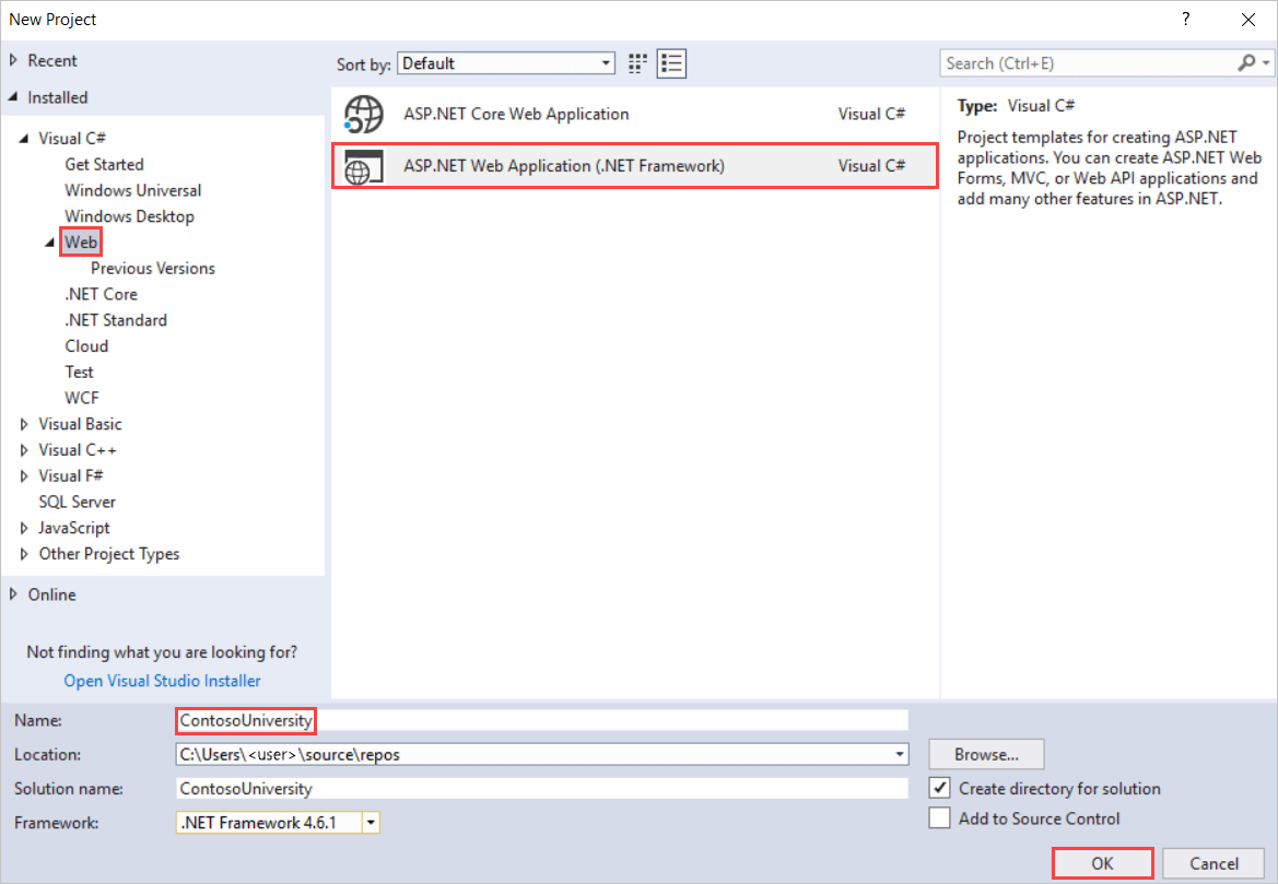 Tutorial Get Started With Entity Framework 6 Code First