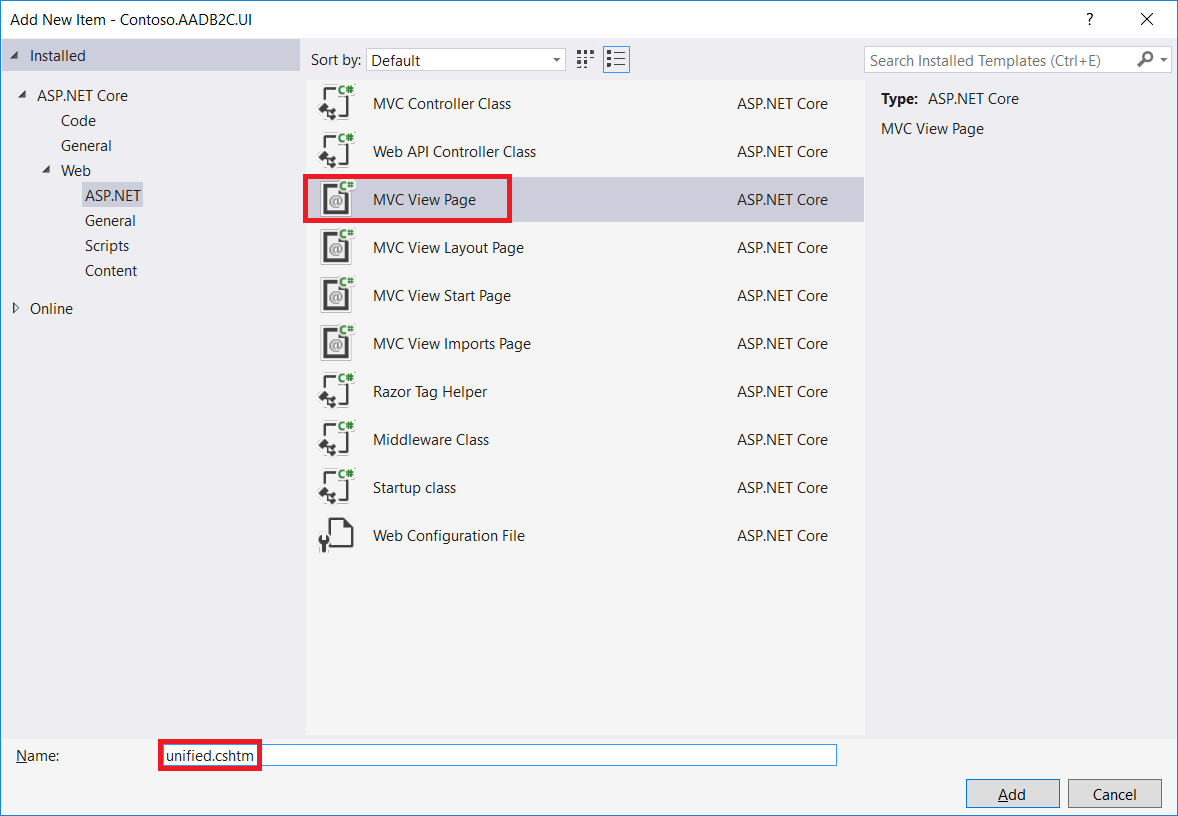 Customize The Azure Active Directory B2c User Interface