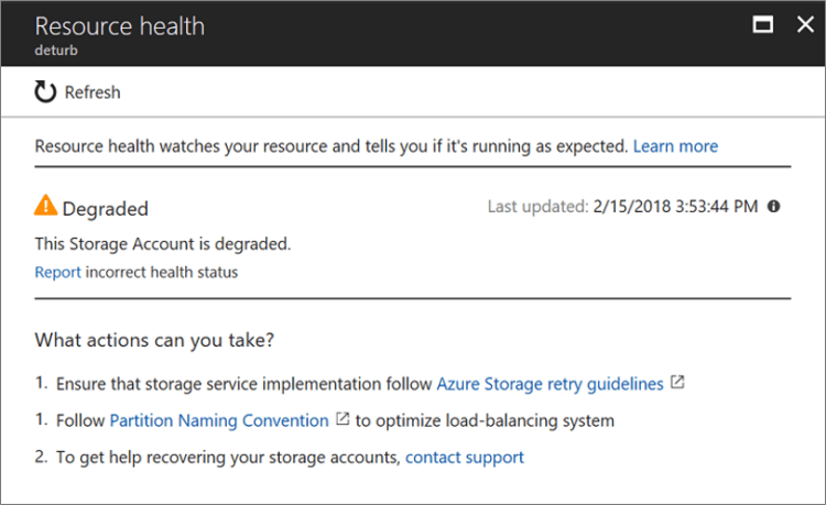 Azure Resource Health overview - Azure Service Health | Microsoft Docs
