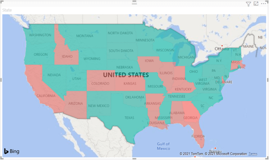 Test your knowledge and train your. Filled Maps Choropleth In Power Bi Power Bi Microsoft Docs