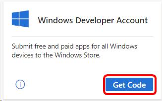 windows developer account benefit in