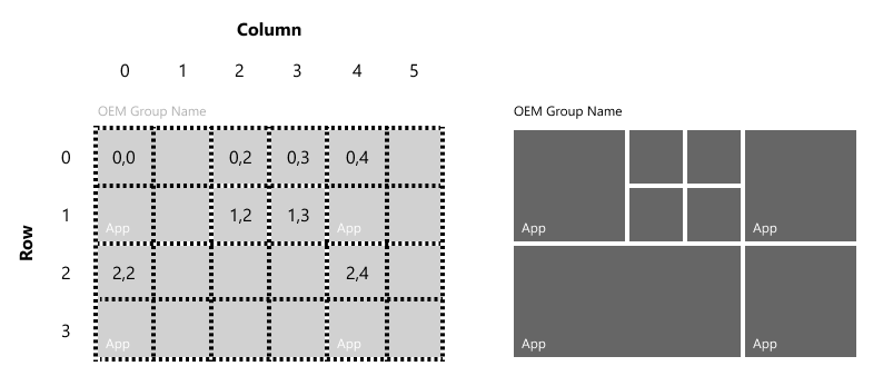 customize the start layout microsoft docs