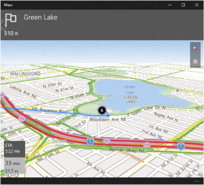 Launch the Windows Maps app   UWP app developer   Microsoft Docs an example of turn by turn directions