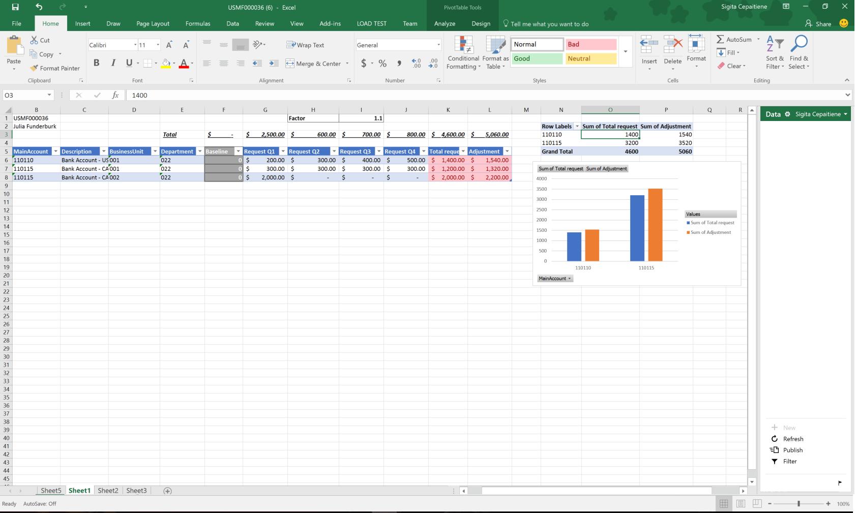 Sni Mat Fjarhagsa Tlunarger Ar Fyrir Excel