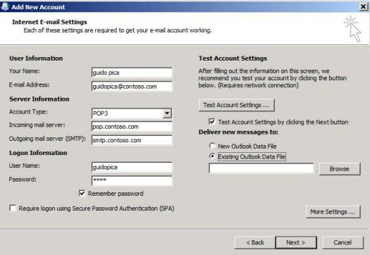 傳送或接收電子郵件時發生錯誤0x8004010F - Outlook | Microsoft Docs
