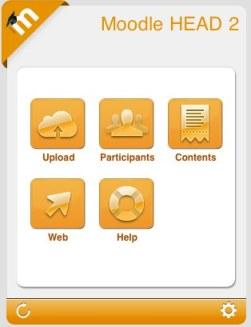 Moodle 2.2 mobile app