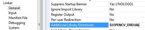 Add the library folder like this.