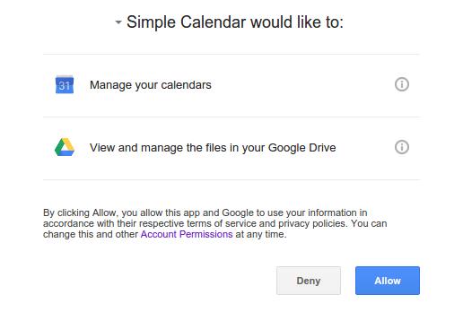 Google App Authorization